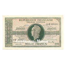 1000 Francs Marianne 1945 - Impression Anglaise