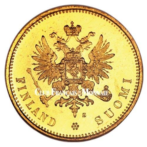 20 Markkaa Or Finlande 1878-1913 - Aigle