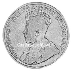 50 cent Argent Canada 1912-1919 - George V
