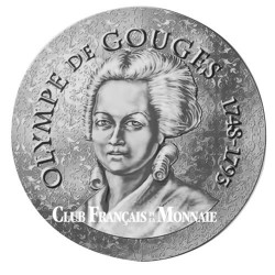 10 Euro Argent France BE 2017 - Olympe de Gouges
