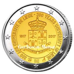 2 Euro Belgique BU 2017 - 200 ans de l'université de Liège