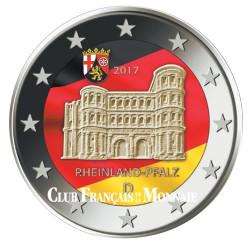 2 Euro Allemagne 2017 colorisée - Porta Nigra
