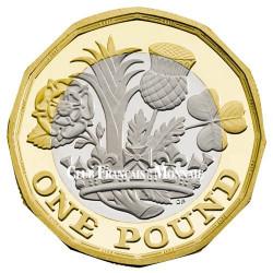 1 Livres Royaume-Uni BU 2017 - Nouveau pound