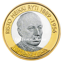 5 Euro Finlande 2017 - Président Finlandais Risto Ryti