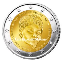 2 Euro Belgique 2016 - Child Focus