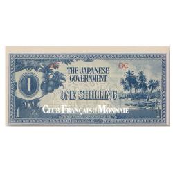 1 Shilling Océanie 1942