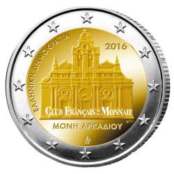 2 Euro Grèce 2016 - 150 ans de l'holocauste du monastère d'Arkadi