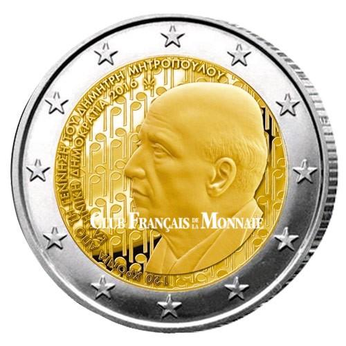 2 Euro Grèce 2016 - 120 ans de la naissance de Dimitri Mitropoulos