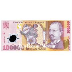 100 000 Lei Roumanie 2001 - Nicolae Grigorescu