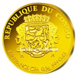 100 Francs CFA Or BE 2016 - Jeux Olympiques Rio de Janeiro