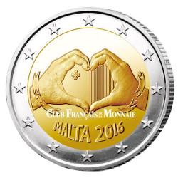 2 Euro Malte 2016 - Amour