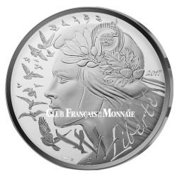 20€ Argent France 2017 - Marianne Liberté
