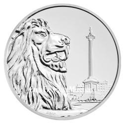 100 Livres Argent Royaume-Uni BU 2016 - Trafalgar Square