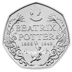 50 Pence Royaume-Uni BU 2016 - Beatrix Potter
