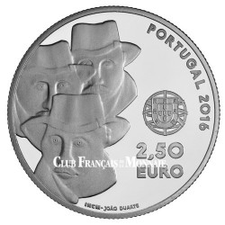 2,5 Euro Argent Portugal BE 2016 - Chant de l'Alentejo - UNESCO