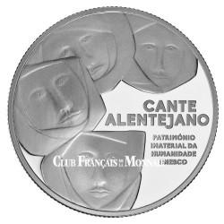 2,5 Euro Argent Portugal BE 2016 - Chant de l'Alentejo - UNESCO