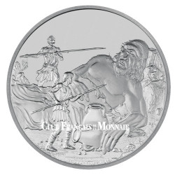 2 Dollars Argent BE 2016 - Mythologie grecque - Cyclope