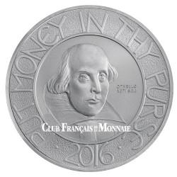 2 Livres Argent Royaume-Uni BE 2016 - 400 ans de la mort de Shakespeare