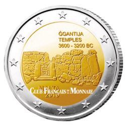 2 Euro Malte 2016 - Temples de Ggantija