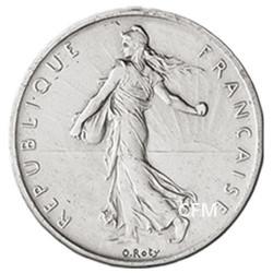 5 Francs Argent Semeuse 1963