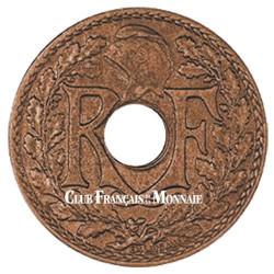 ½ cent Indochine Française