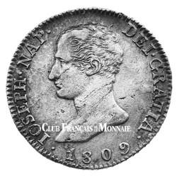 4 Reales Argent Joseph Napoléon Ier - Roi d'Espagne