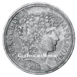 2 lires Argent Joachim Ier - Roi de Naples