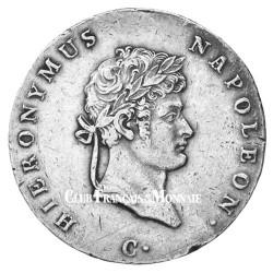 2/3 Thaler Argent Jérôme Bonaparte - Roi de Westphalie