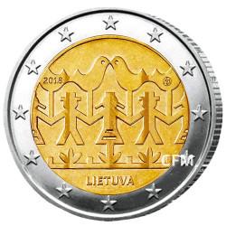 2 Euro Lituanie 2018 - 60 ans du Festival de chant et de danse