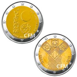 Lot de 2 x 2 Euro Estonie 2018