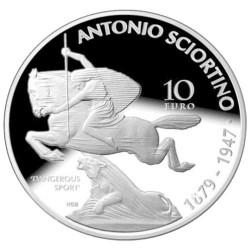10 Euro Argent Malte BE 2018 - 50 ans de la Banque Centrale