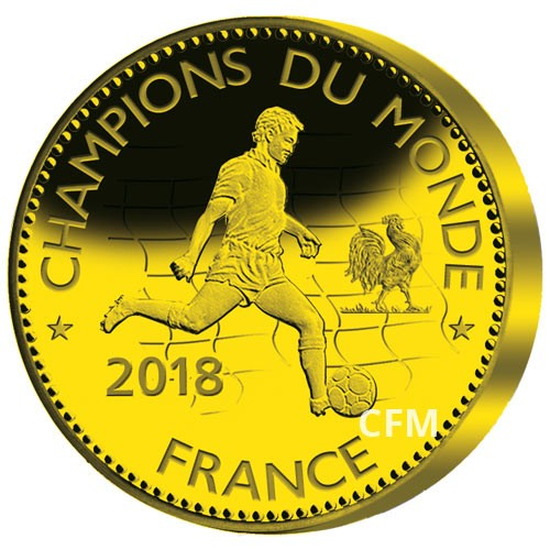 Champions du Monde France 2018 - Or