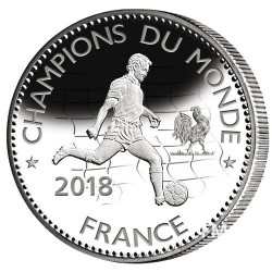 Champions du Monde France 2018 - Cupronickel