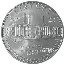 1 Dollar Argent USA BU 2006 - Granite Lady