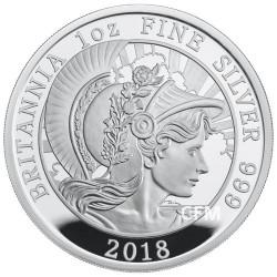 2 Livres Argent Royaume-Uni BE 2018 - Britannia