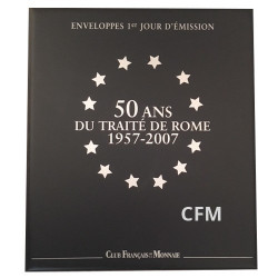 Classeur ETM Euro - 50 ans du Traité de Rome