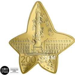 200 Euro Or France BE 2018