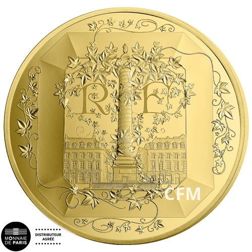 50 Euro Or France BE 2018