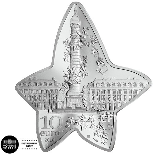 10 Euro Argent France BE 2018
