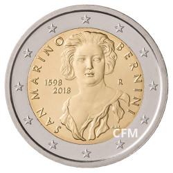 2€ Saint-Marin 2018 - 420 ans de G.L. Bernini