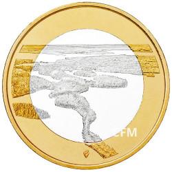 5 Euro Finlande 2018 paysages finlandais - Esker de Punkaharju