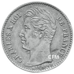 1/4 Franc Argent Charles X