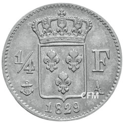 1/4 Franc Argent Charles X