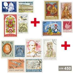 450 timbres Balkans