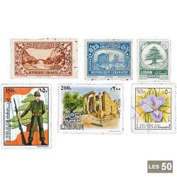 50 timbres Liban