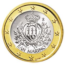 1 Euro Saint-Marin 2015 - Armoiries