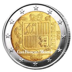2 Euro Andorre 2015 - Armoiries