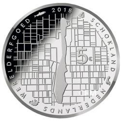 5 Euro Pays-Bas 2018 - Schokland