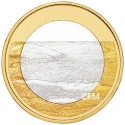 5 Euro Finlande 2018 - Paysages finlandais -  Pallastunturi