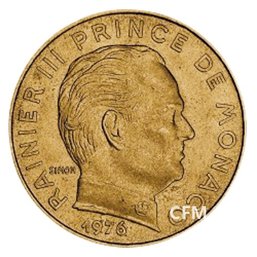 20 Centimes Monaco  1962-1995